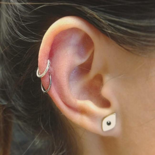 piercing cartilago bulto