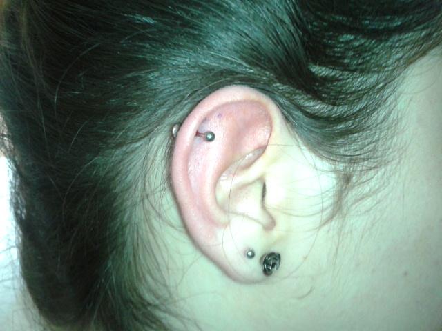 piercing cartilago ampolla