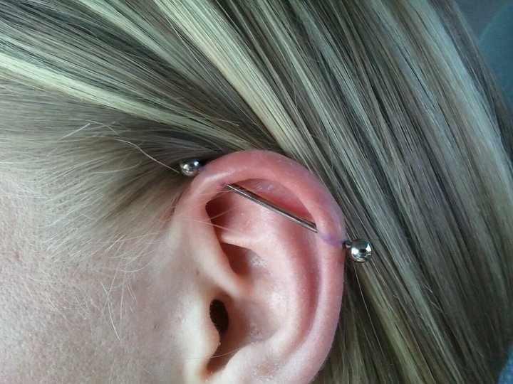 piercing industrial infectado