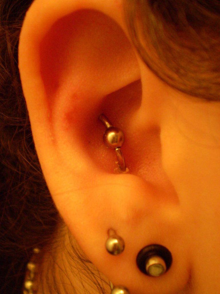 orbital piercing and rook