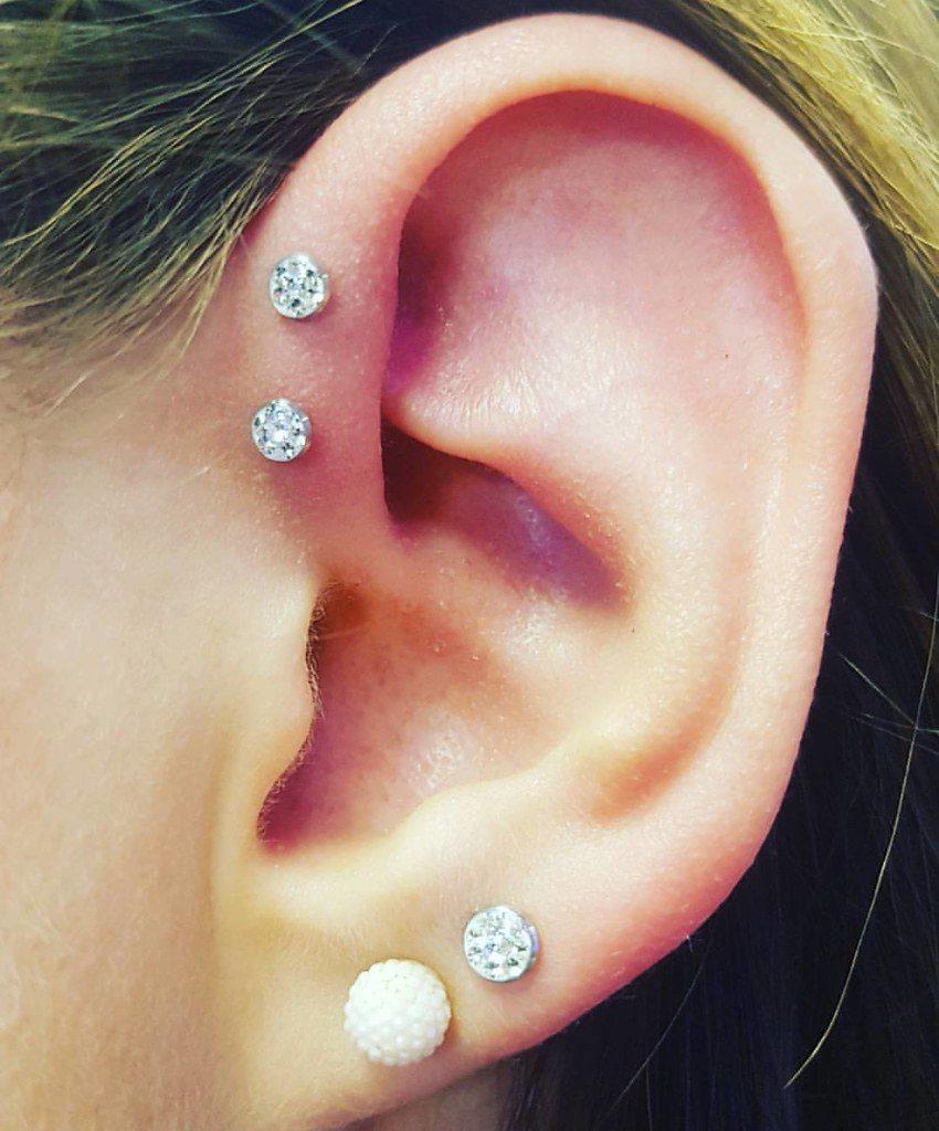 piercing anti helix cuidados