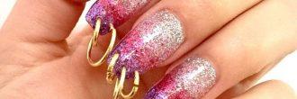 Piercing en las uñas